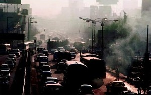 Pollution_embouteillage